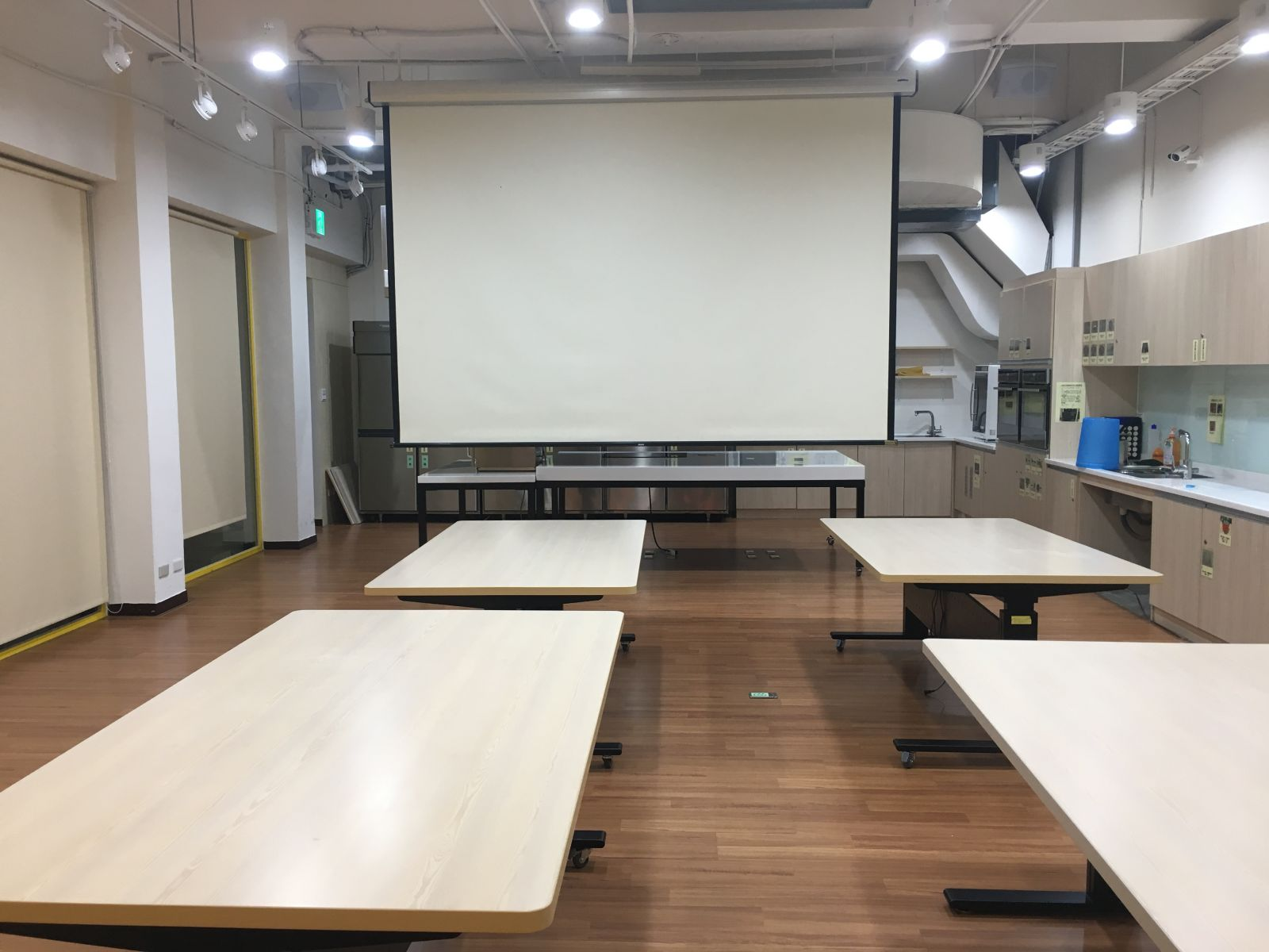 1樓廚藝教室空間示意圖一