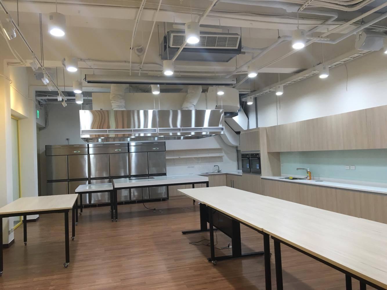 1樓廚藝教室空間示意圖二