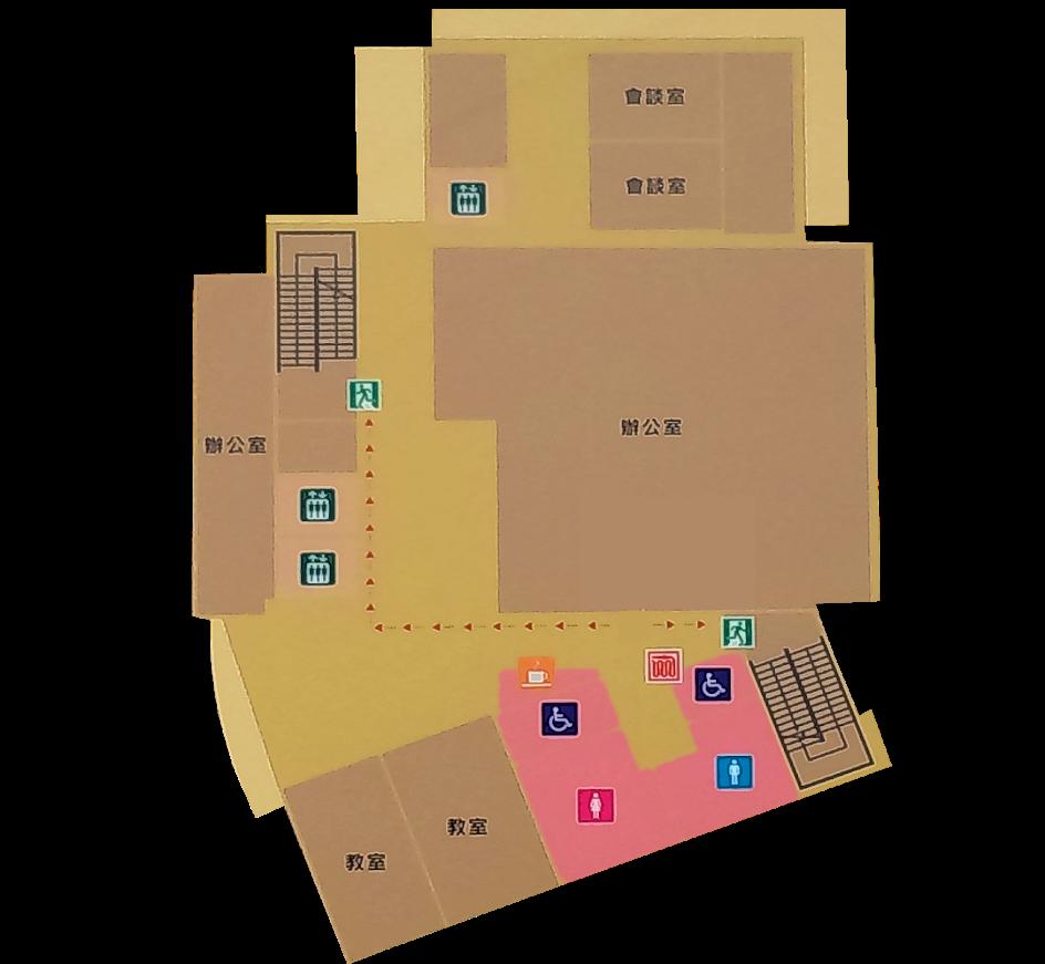 3樓臺北市政府社會局身障會館暨需求評估中心