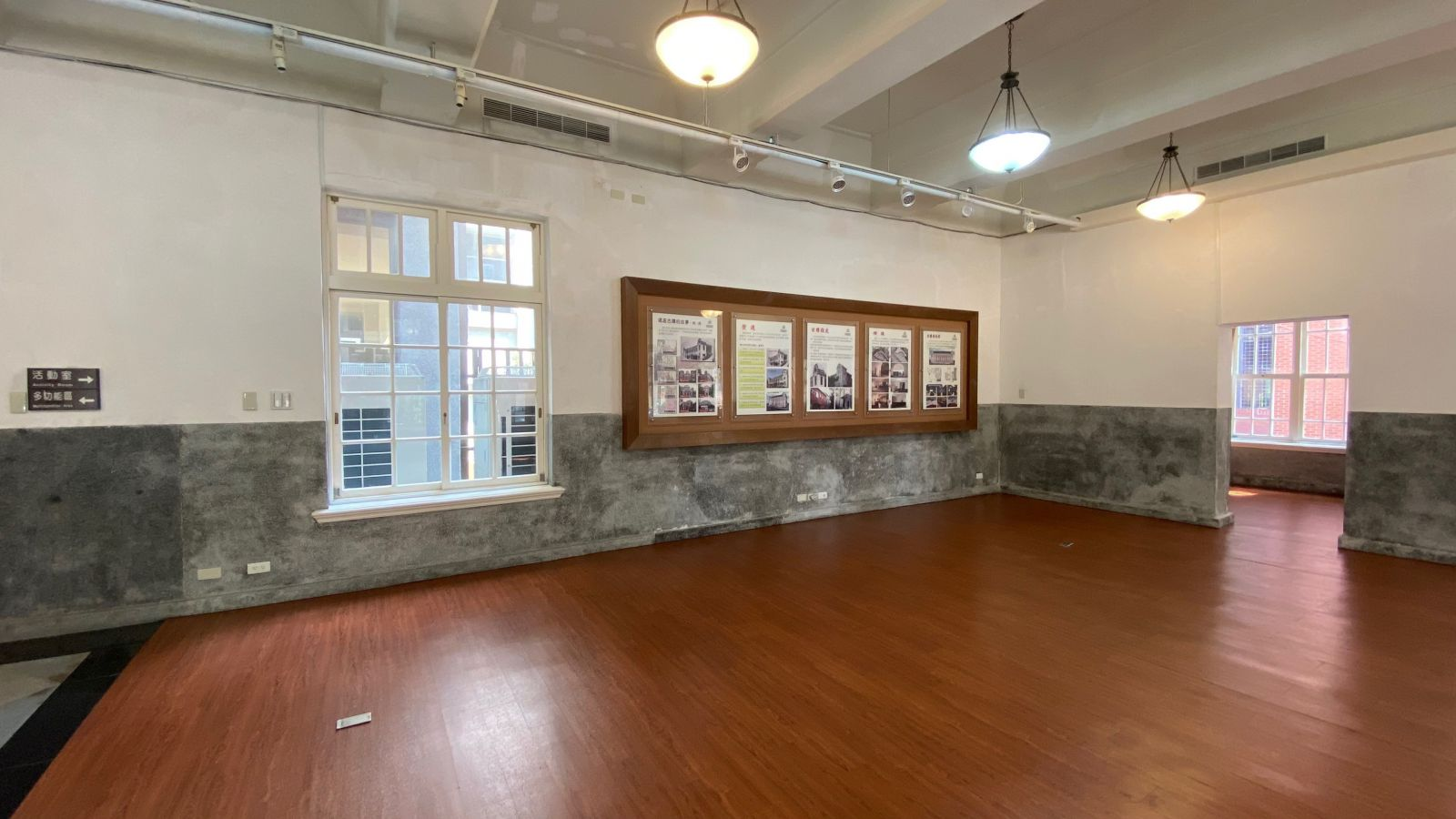 1樓展示區空間示意圖二