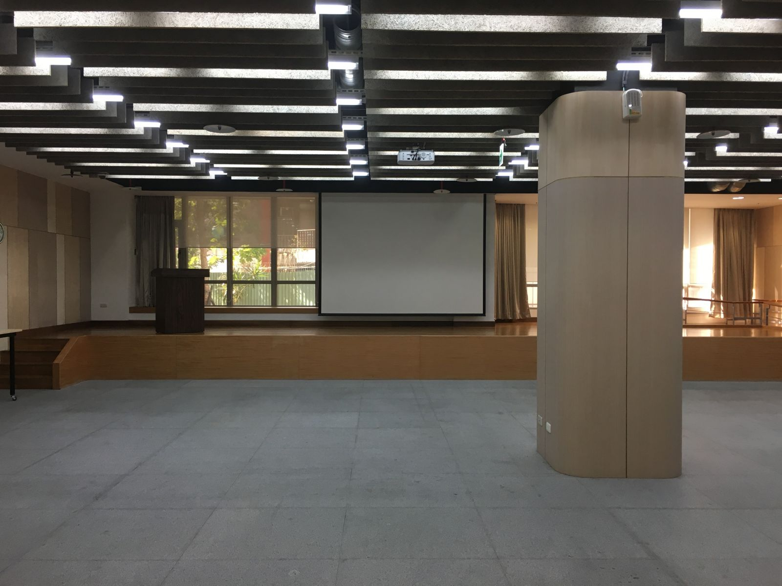 1樓多功能活動區空間示意圖一